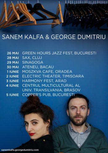 Romanian tour Sanem Kalfa & George Dumitriu 2016